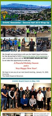 SVANC Newsletter